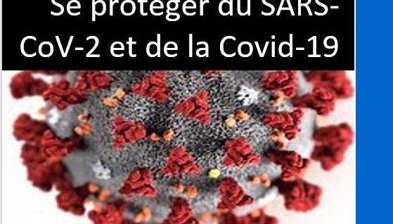 Se protéger du SARS-CoV-2 et de la Covid-19: le Guide.